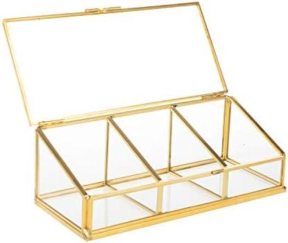 Feyarl - Caja de almohadillas de algodón para maquillaje, color dorado: Amazon.es: Bricolaje y herramientas