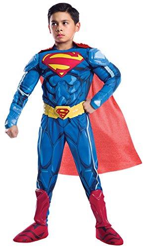 Rubie's Costume Boys DC Comics Premium Superman Costume, Small, Multicolor ()