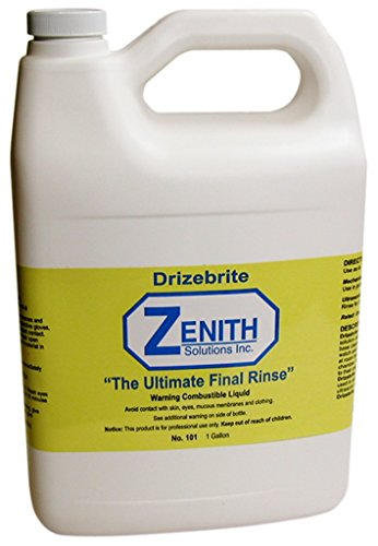 Zenith Drizebrite Final Rinsing Solution for Watch and Clocks-Gallon