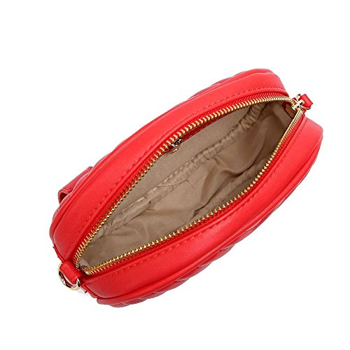 Haute Grey Red Quilted Crossbody 2in1 for Bumbag Women Diva OqwArcOH