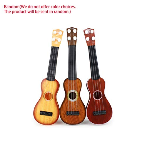 Foreverharbor 14.5 inch Ukulele Beginner Hawaii 4 String Nylon Strings Guitar Musical Ukelele for Children Kids Girls