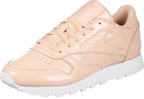 Reebok Fitness Chaussures white Dust Femme Lthr 000 Cl Beige Patent desert De 7r1x7wqX