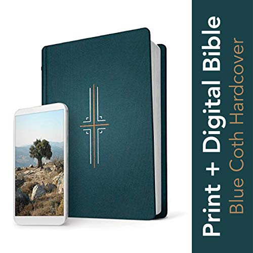 Tyndale NLT Filament Bible (Hardcover Cloth, Midnight Blue): Premium Bible with Access to Filament Bible App, Mobile Access to Study Notes, Devotionals, Video and More