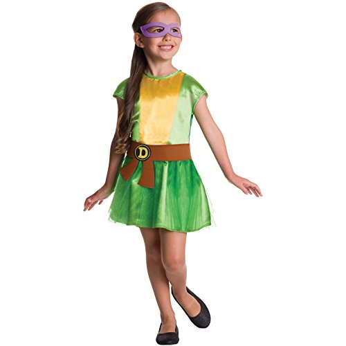 Teenage Mutant Ninja Turtles - 4 in 1 Costume (Ninja Child Costume Kit)
