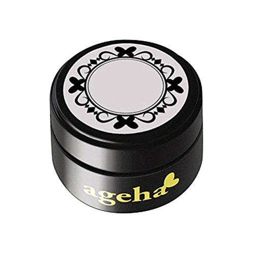 買い物に行くゴミ箱を空にするカセットageha gel カラージェル コスメカラー 204 ビターチョコレート 2.7g UV/LED対応