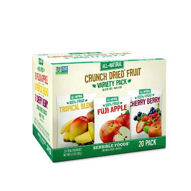 Crunch Dried Fruits Variety Pack (20 -