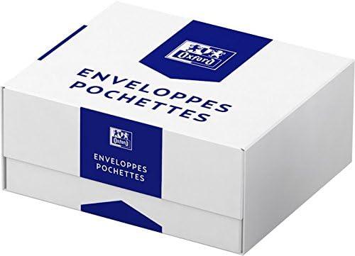 Oxford caja de 500 sobres con cierre autoadhesivo, Enveloppe C5 ...