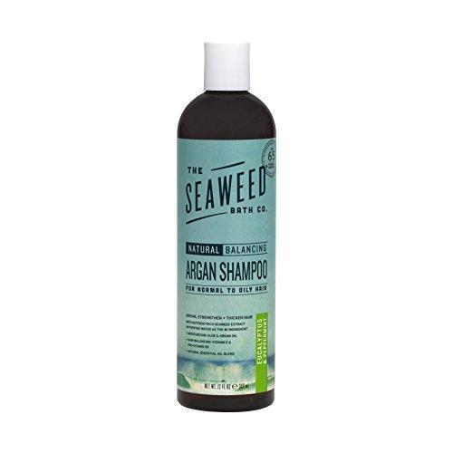 The Seaweed Bath Co. Balancing Eucalyptus and Peppermint Argan Shampoo,