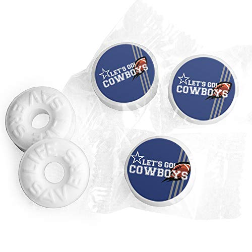 Cowboys Football Party Favors Lifesavers Mints (300ct) ()