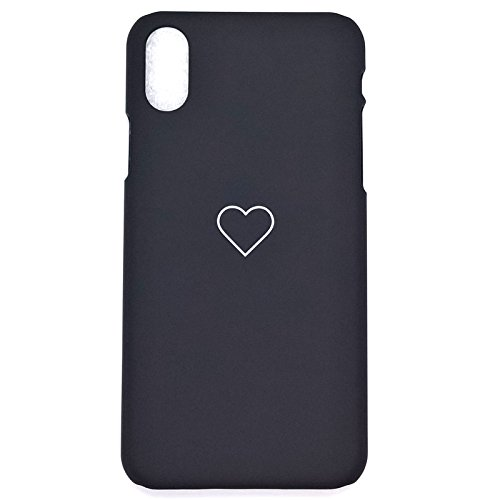 - Apple iPhone Xs Max Case, iPhone Xs Max Cover Luxury Cute Heart Shockproof PC Slim Phone Case Cover for Apple iPhone Xs Max (Black, for iPhone Xs Max 6.5