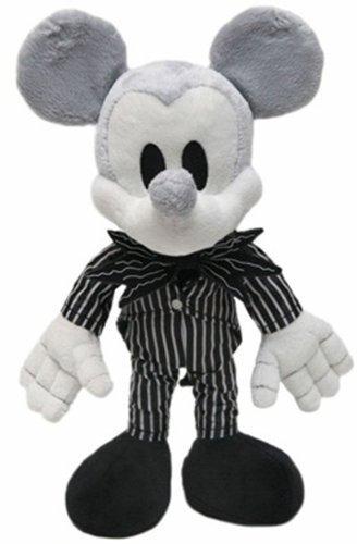 Disney Nightmare Before Christmas 9 Plush Mickey Mouse Doll Dressed as Jack Skellington