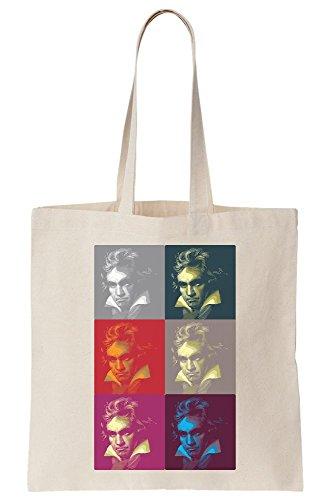Art Pop Canvas Bethoven Bag Cool Tote Set qEAFxw05