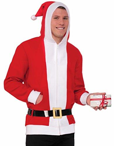 North Pole Simply Santa Hoodie (Adult Santa Hoodie)