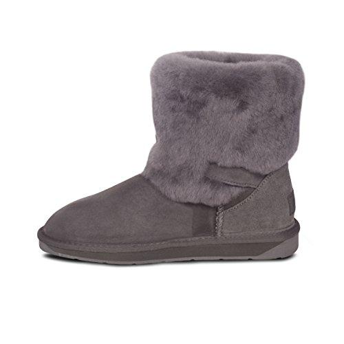 d4156465b well-wreapped Cloud Nine Ladies Sheepskin 2 Buckle Boots by RJs Fuzzies/Cloud  Nine