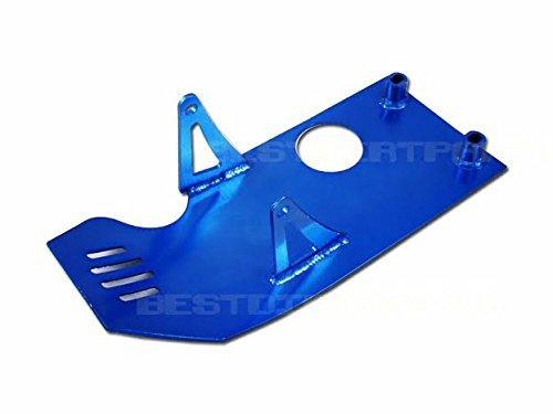 (Blue Racing Skid Plate XR50 CRF50 125cc Pit Bike)