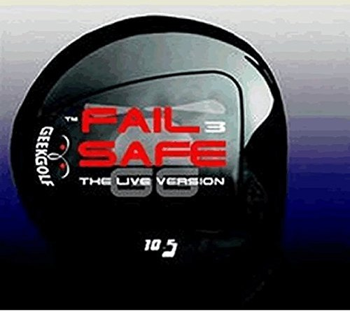 #1 Distance + Accuracy GEEK GOLF FAIL SAFE 3 (FS3) World Long Drive Golf Driver Component Head - Loft 6°, 7.5°, 9° or 10.5° (7.5°)