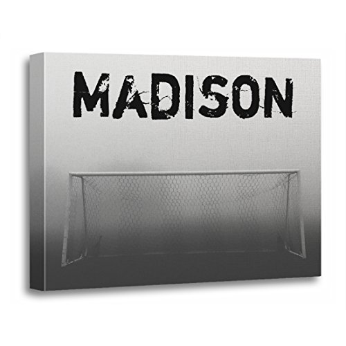 TORASS Canvas Wall Art Print Goalie Soccer Football Player Team Name Varsity Artwork for Home Decor 16