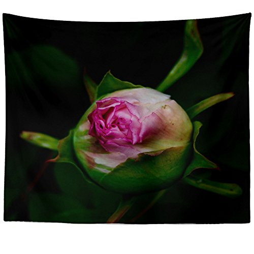 Rose Petal Accessories Cottage (Westlake Art - Wall Hanging Tapestry - Bud Blossom - Photography Home Decor Living Room - 51x60in)