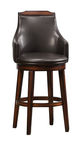 41SkYgGtClL - Homelegance-5447-29S-Swivel-Pub-Height-Chair-Warm-Oak-Finish-Set-of-2