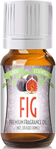 Fig Scented Oil by Good Essential (Premium Grade Fragrance Oil) - Perfect for Aromatherapy, Soaps, Candles, Slime, Lotions, and More! ()
