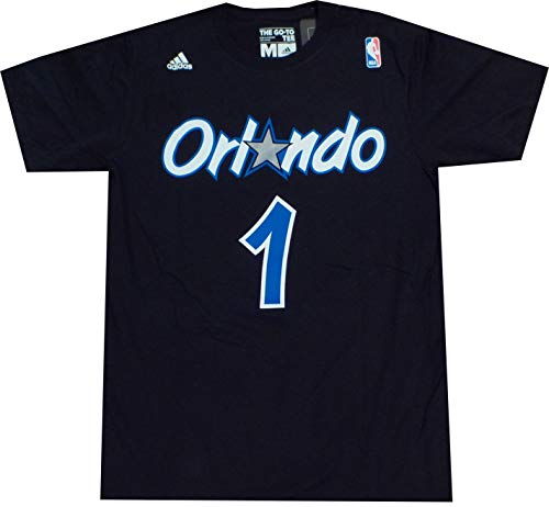 Orlando Magic Anfernee Penny Hardaway Throwback Adidas T Shirt (XL)