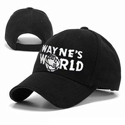 fbec5cebdecef Wayne s World Hat costume Waynes World cap embroidered baseball cap version