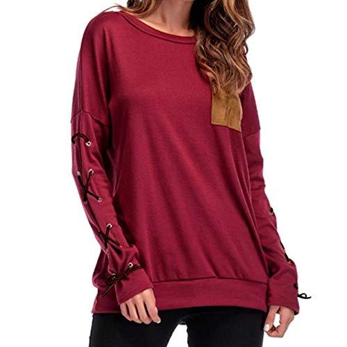 Shirt Manches E3201245 T Longues Chemisier C pour Kangrunmys Femmes S1nvwqxXFI
