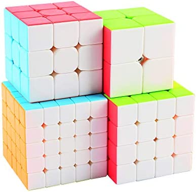 TOYESS Speed Cube Set Stickerless, Cubo de Velocidad 3x3 ...