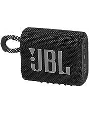JBL GO 3 Portable Waterproof Speaker, Black