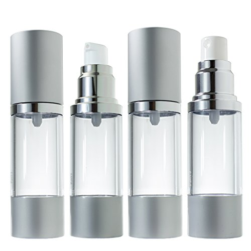 Airless Pump and Spray Bottle Refillable Travel Set - 1 f...