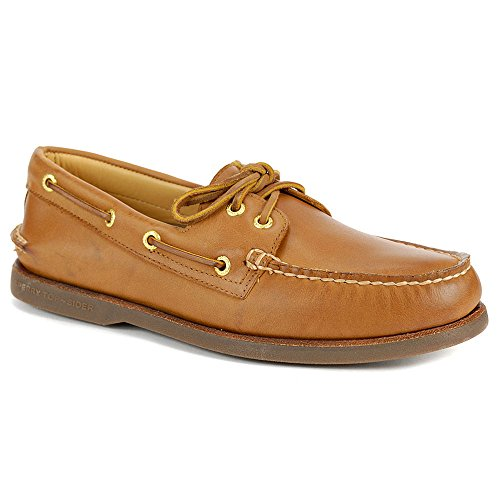 Sperry Top-Sider Gold Cup Authentic Original Boat Shoe (10.5 W (EE), Sahara)