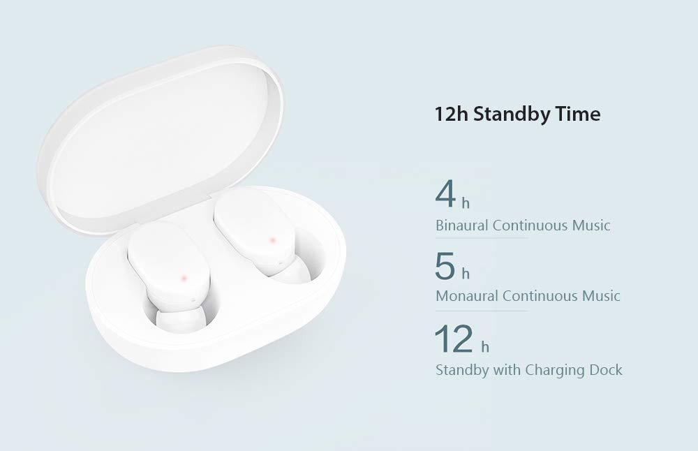 Auriculares portátiles con micrófono Bluetooth para Auriculares Inteligentes MI: Amazon.es: Electrónica