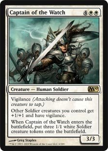 Magic: the Gathering - Captain of the Watch - Magic 2010