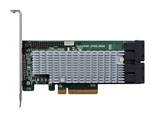 HighPoint RocketRAID 840A PCIe 3.0 x8 6Gb/s SATA RAID Host - Highpoint Stores At