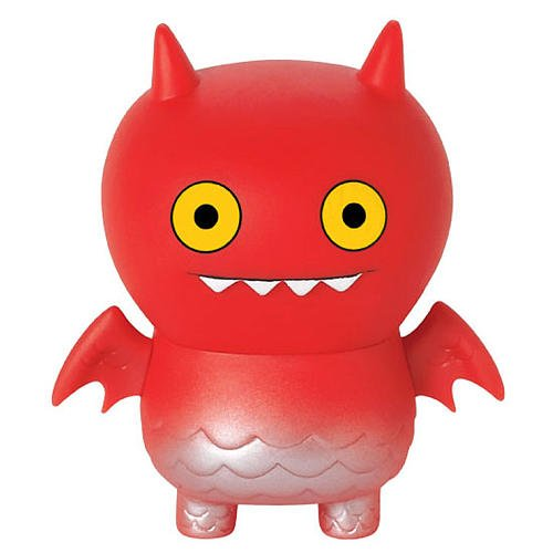 Uglydoll Kaiju Ice-Bat Series 3 Action Figure in Red (Action Uglydoll Series Figures)