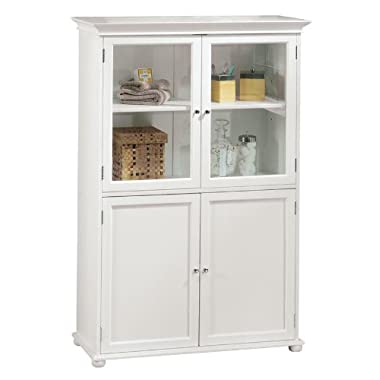 Hampton Bay 36 w Four door Tall Cabinet, STANDARD 36 W, WHITE