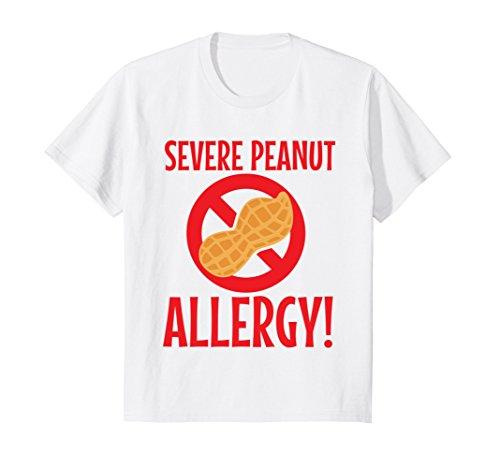 Kids Field Trip Shirt Peanut Allergy Warning 4 ()
