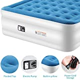 TILVIEW Queen Size Air Mattress, Blow Up Elevated