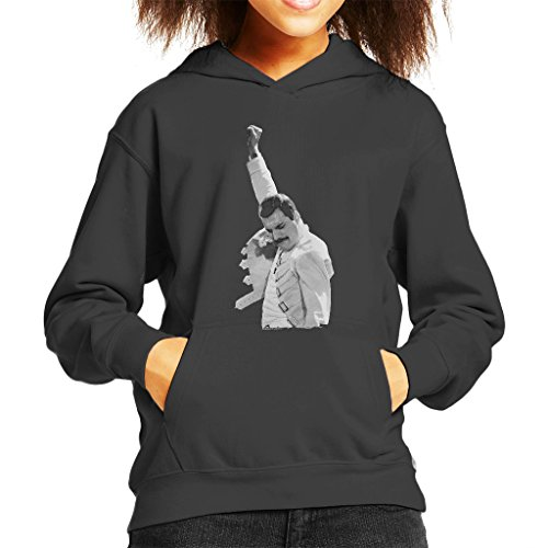 Freddie Mercury of Queen Live in Newcastle 1986 Kid's Hooded ()