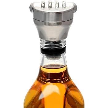CKB Ltd Four-Digit Combination Solid Bottle Lock - Keep Your Bottle's Contents Safe And Secure