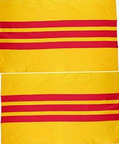 Mikash 3x5 South Vietnam 2 Faced 2-ply Wind Resistant Flag 3x5ft | Model FLG - 3914
