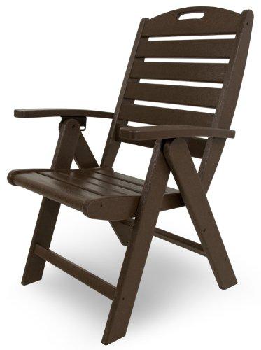 (Trex Outdoor Furniture Yacht Club Folding Highback Chair, Vintage Lantern)