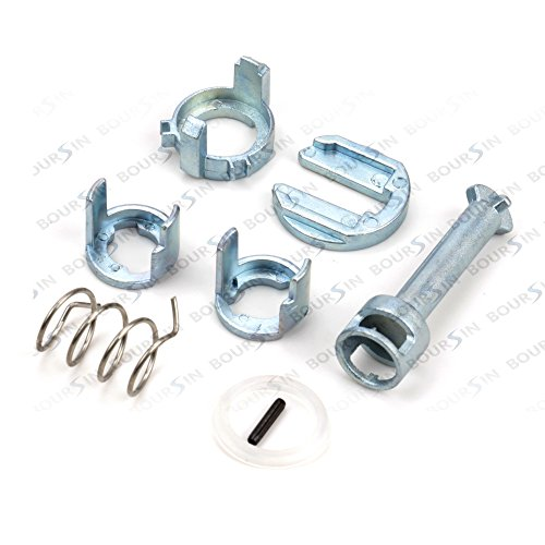 2001 Bmw E46 - Door Lock Cylinder Barrel Repair Kit fit 1998-2006 BMW E46 323i 323c 323ci 325i 325xi 325c 325ci 328i 328c 328ci 330i 330xi 330c 330ci M3 Front L/R Side
