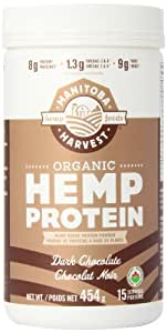 Manitoba Harvest Organic Hemp Protein Powder Chocolate Flavor, 454 g Tub