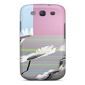 Hot FCrEjzo7222iWzyu Flower Glitch Tpu Case Cover Compatible With Galaxy S3