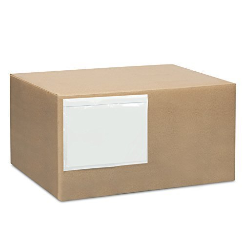 Clear Adhesive Top Loading Packing List Shipping Label Envelopes Pouches  200 Pk