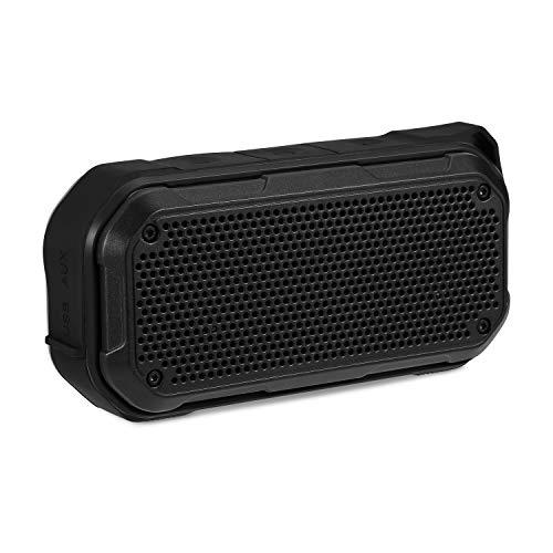 Waterproof Bluetooth Speaker, IPX8 Waterproof Speaker Bluetooth Shower Speaker (2019 New) Outdoor Wireless Portable Speaker TWS Stereo 12H Playtime for Bath Pool Beach Home Party Travel (Best Shower Speaker 2019)