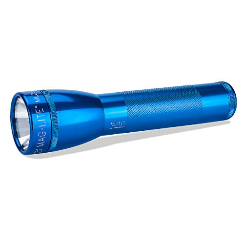 Maglite ML25LT LED 2-Cell C Flashlight, Blue