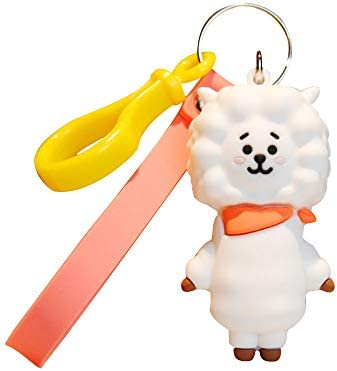 BTS BT21 Llavero con colgante Kpop Bangtan para niños, 3D ...