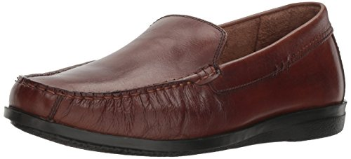 Dockers Men's Montclair Slip-on Loafer, Antique Brown, 11.5 M - Warehouse And E S Mens